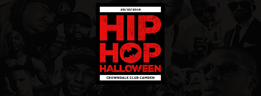 Hip Hop Halloween! Saturday October 29th! on Sat 29th Oct 2016 at Crowndale Club, London | Fatsoma