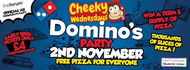 The Domino's FREE Pizza Party!!!