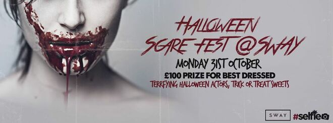 The London Scarefest - Halloween at Sway Holborn