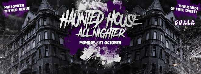 The Haunted All Nighter!