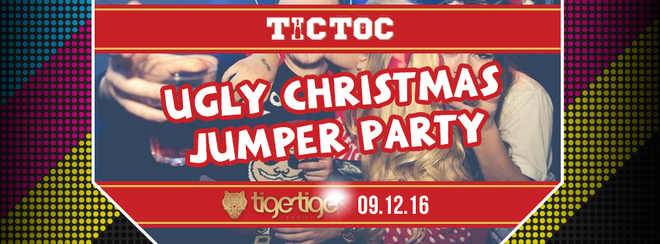 Ugly Christmas Jumper Party // TIC TOC Friday's @ Tiger Tiger