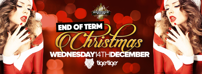 Shotgun Rules End of Term Christmas Party 2016