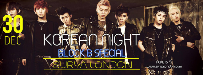 Korean Night ★ New year party ★ Block B Special