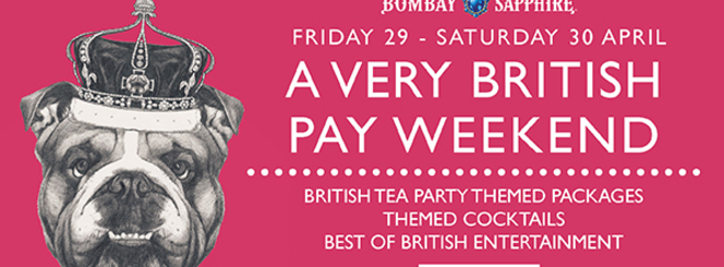 A Very British Pay Weekend