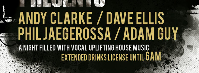 Venus presents Vocal Funky House - Bank Holiday Sunday
