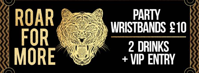Saturday's VIP Wristbands