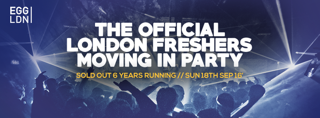 The 2016 London Freshers Moving In Party!
