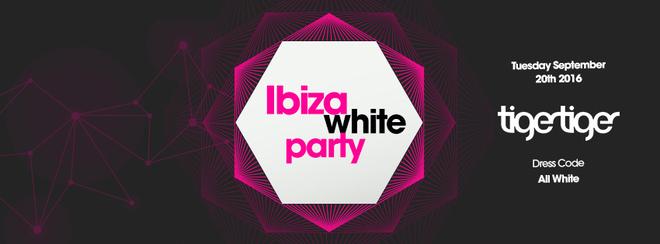 The 2016 Freshers Ibiza White Party!