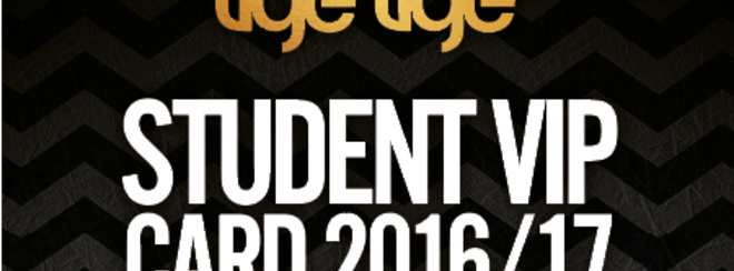 Student VIP Card 2016/2017