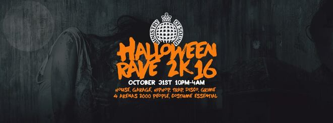 The Ministry of Sound Halloween Rave 2k16