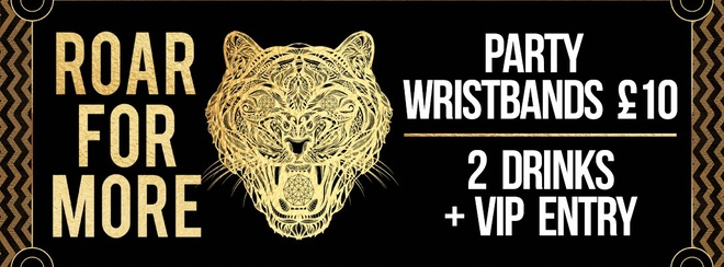 Saturday Night Party Wristbands!
