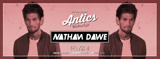 Antics Presents Nathan Dawe