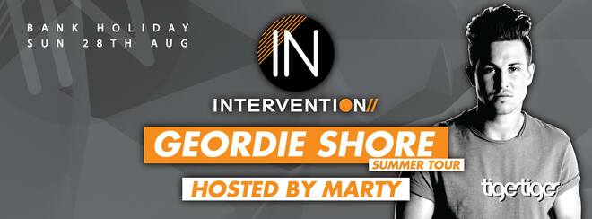 Intervention Bank holiday special - Geordie shore hosted by Marty