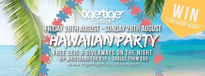 Hawaiian Party #VIPSaturdays