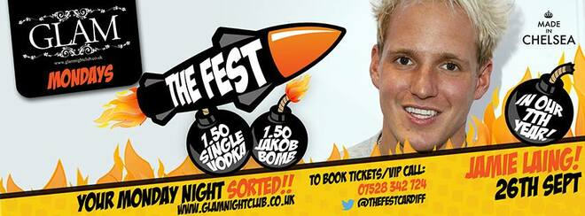 Jamie Laing does The Fest