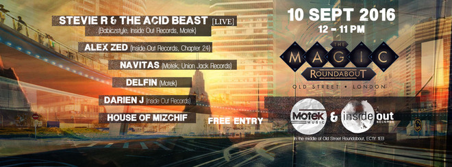 Inside Out Records + Motek // End of Summer Free Open-Air Party