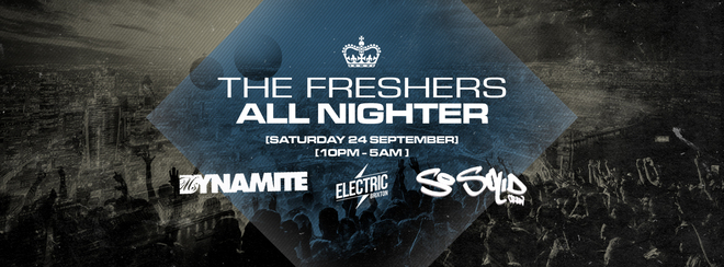 The Freshers All Nighter Feat: Ms Dynamite & So Solid Crew + Guests | Electric Brixton