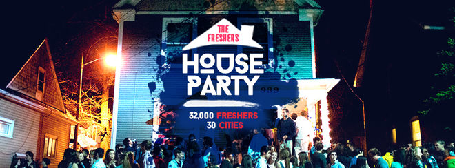 The Freshers House Party at The Coronet!