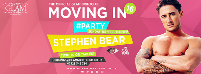 THE OFFICIAL MOVING IN PARTY- Hosted by The Bear