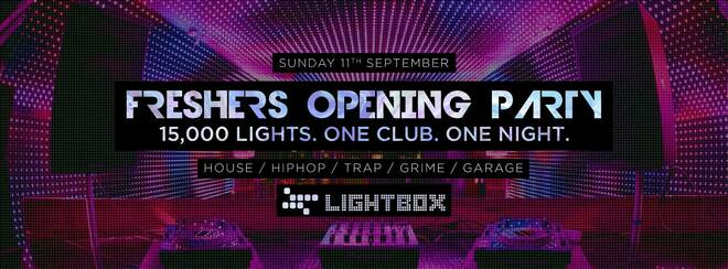 The Official Freshers Opening Party | London 2016 @ Lightbox