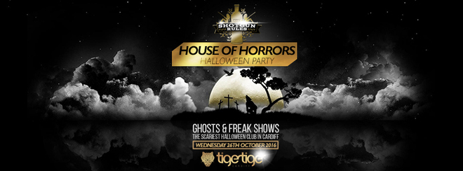 House Of Horrors Halloween Party