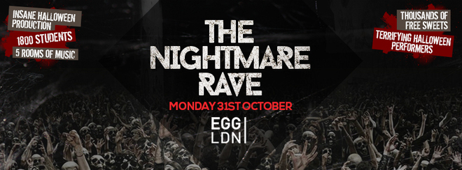 The Nightmare Rave at EGG!